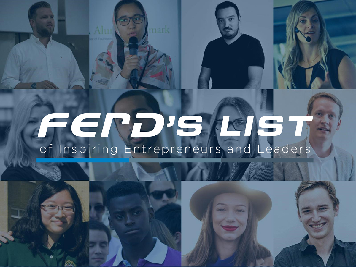 FERD ' S LIST – A new European recognition of inspirational young entrepreneurs and leaders