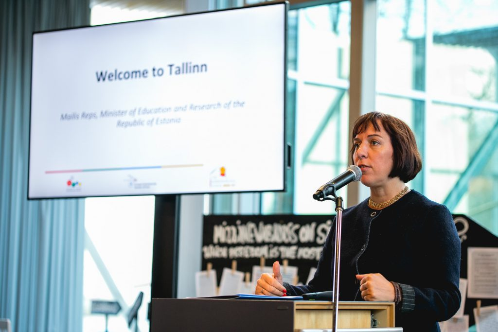 Mailis Reps, Estonian Minister of Education